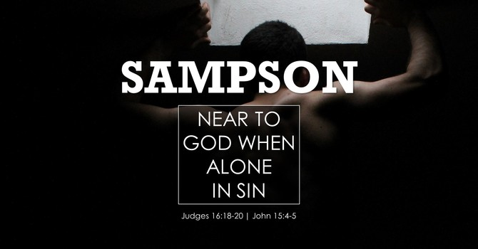 Near to God When Alone in Sin