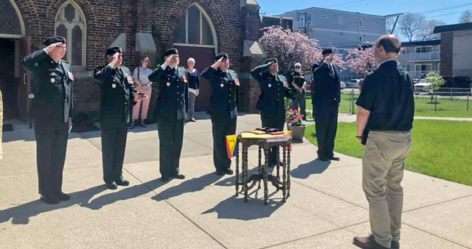 Holy Trinity Bids Drive-by Farewell to Rector Chris Pappas