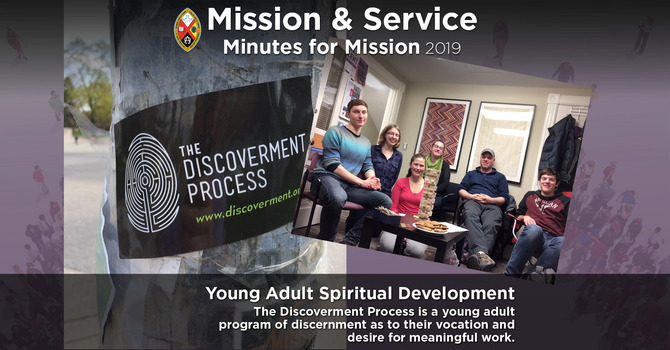 Minute for Mission: Youth Spiritual Development image
