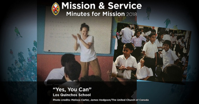 "Minute for Mission: ""Yes, You Can"" image"