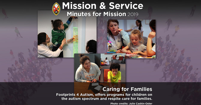 Minute for Mission: Caring for Families image