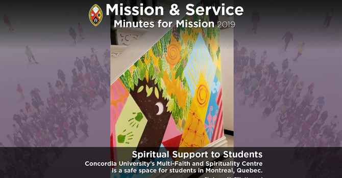 Minute for Mission: Spiritual Healing for Students image