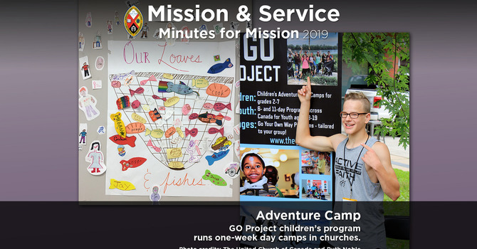 Minute for Mission: Adventure Camp image