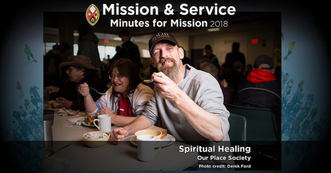 Minute for Mission: Spiritual Healing image