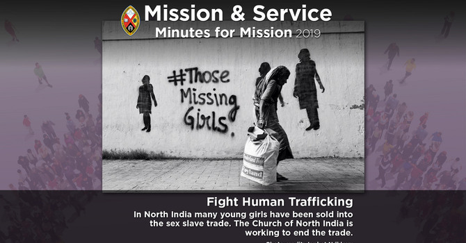Minute for Mission: Fighting Human Trafficking image
