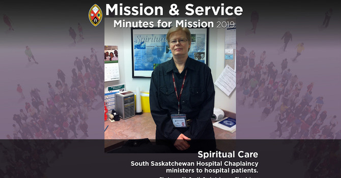 Minute for Mission: Spiritual Care image