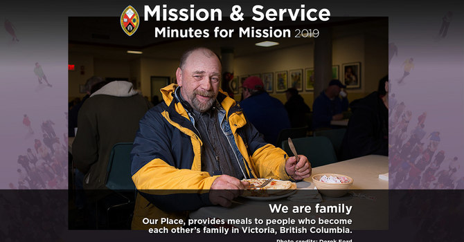 Minute for Mission: We Are Family image