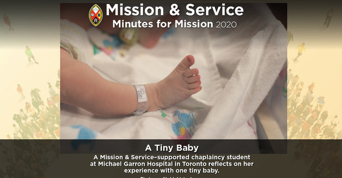 Minute for Mission: A Tiny Baby image