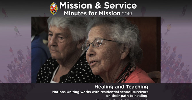 Minute for Mission: Healing and Teaching image