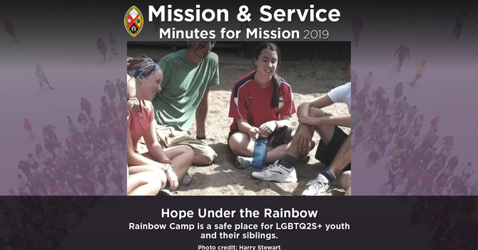 Minute for Mission: Hope Under the Rainbow image