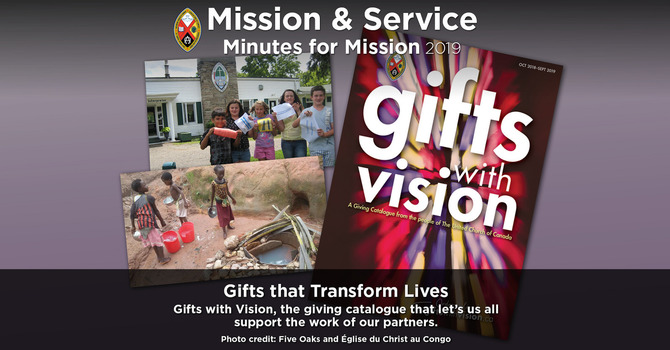 Minute for Mission: Gifts That Transform Lives! image