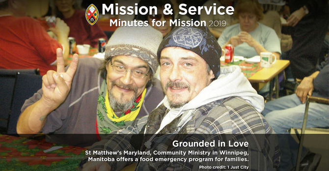 Minute for Mission: Grounded in Love image