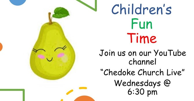 Children's Fun Time ~ Wednesdays @ 6:30 pm