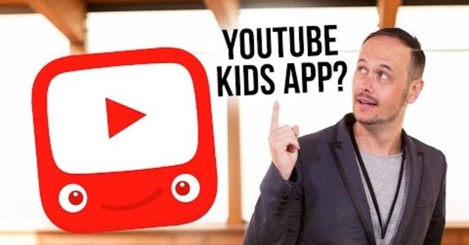 YouTube Kids App for Children's Ministry image