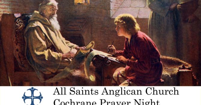 Cochrane Prayer Night May 27