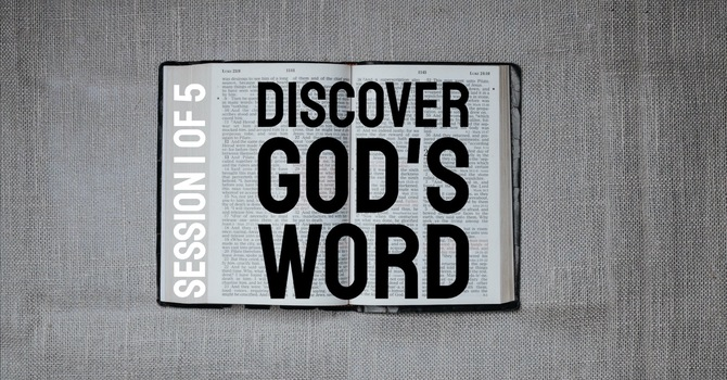 Discover God's Word: HEARING image