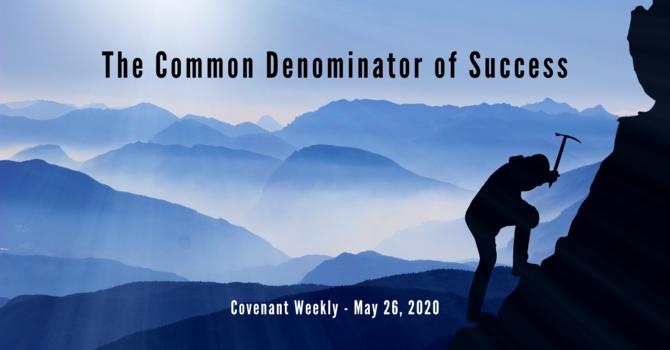 The Common Denominator of Success image