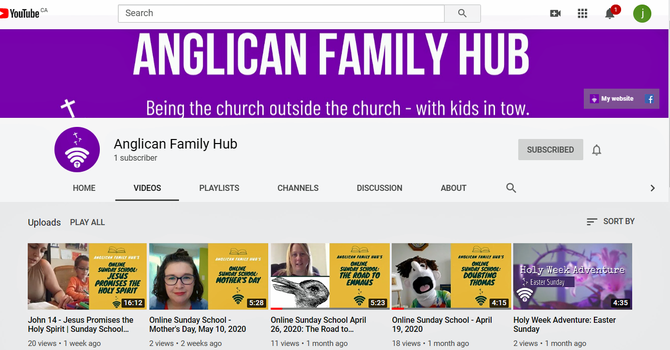 Anglican Family Hub image