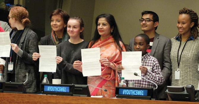 Youth Transforming Unjust Structures of Society for Women and Girls image