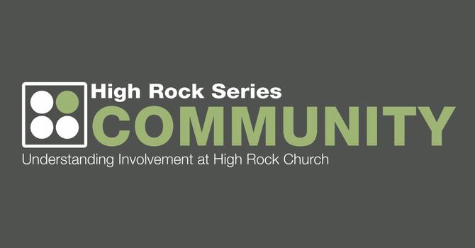 High Rock Series: Community