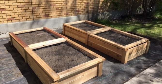 Community Garden Beds Installed!