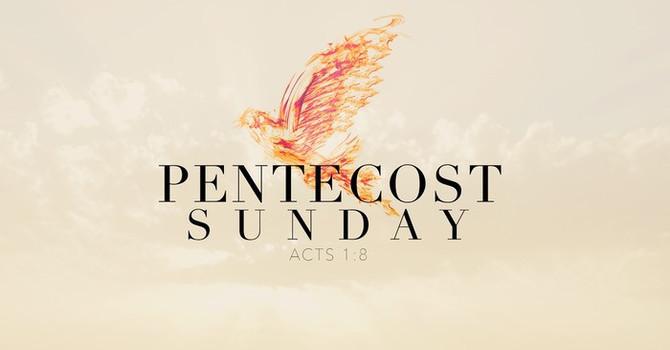 Pentecost Sunday Announcement image