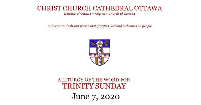 Online service for Trinity Sunday