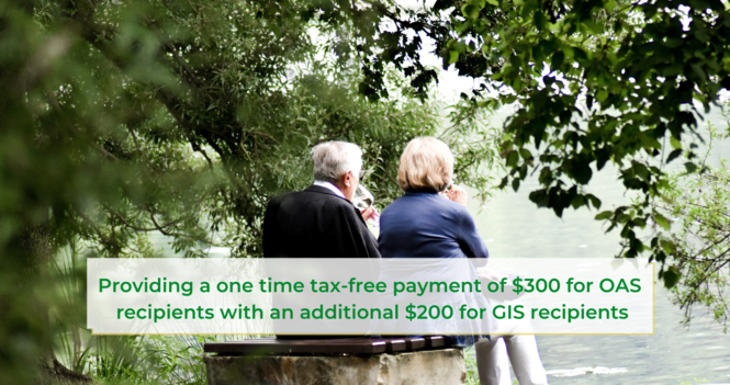 COVID-19 One-Time Tax Free Payment for Seniors From Employment and Social Development Canada – May 2020