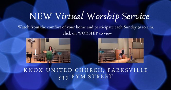 NEW Virtual Worship Service