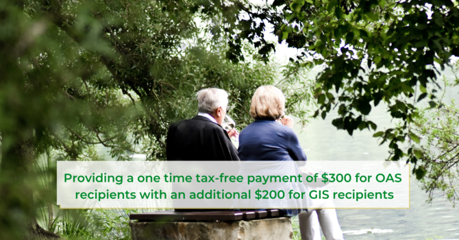 COVID-19 One-Time Tax Free Payment for Seniors From Employment and Social Development Canada – May 2020 image