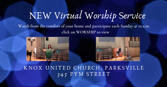NEW Virtual Worship Service image