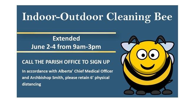 Indoor-Outdoor Cleaning Bee Extended