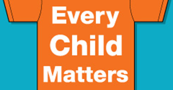 Orange Shirt Day/ Every Child Matters