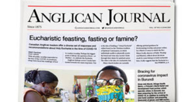 June 2020 Anglican Journal image