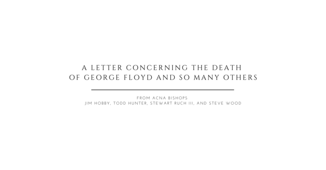 A Letter Concerning the Death of George Floyd and So Many Others image