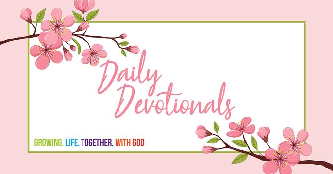 Daily Devotional by Rev. Dr. Geoffrey Simmins