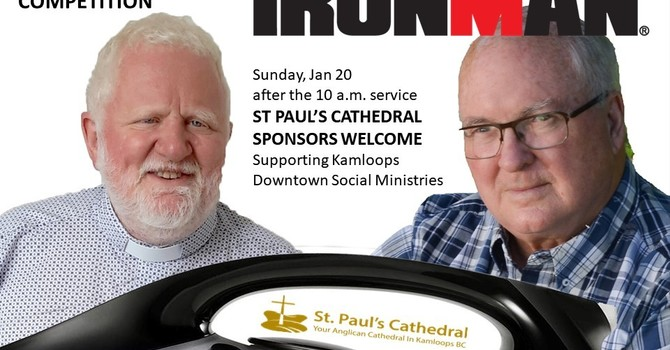 IRONMAN CHALLENGE a first for the Anglican Communion image