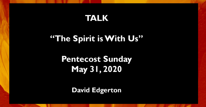 """Talk """"The Spirit is With Us"""" image"""