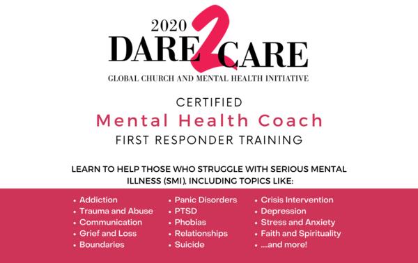 Mental Health Coach Training Opportunity