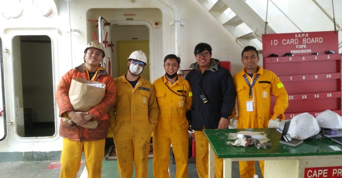 'Care Packages' for seafarers