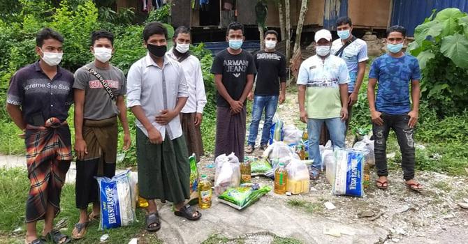 Rohingya Food Hampers image