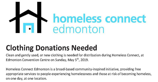 Homeless Connect Clothing Drive image