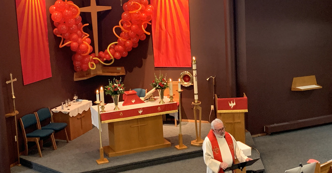 Pentecost at St. Matthew, St. Albert image