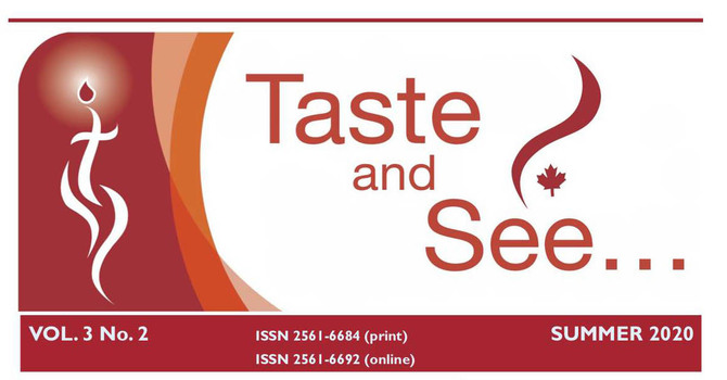"""Summer Issue of  """"Taste and See"""""""
