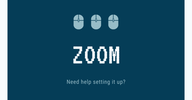 Setting Up Zoom image