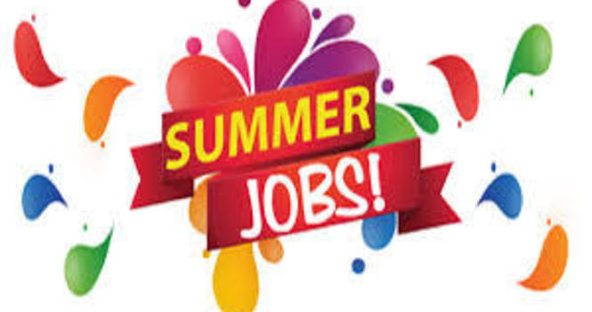 Summer Student Jobs Available!