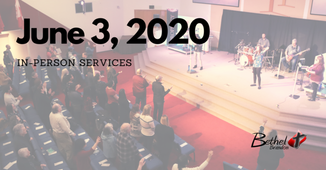 Wednesday June 3, 2020 In-Person Services