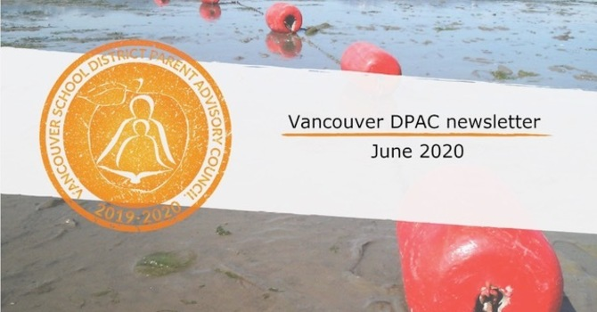 Vancouver DPAC Newsletter - June 2020 image