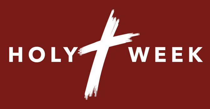Holy Week 2020 image