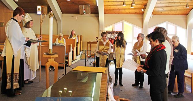 Bishop Commissions Pastoral Visiting Team